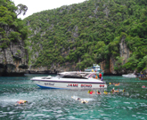 Phi Phi Island Maya Bay + Khai Island By Speed boat